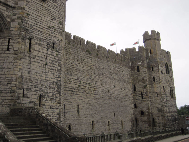 Caernarfon Castle - photo by Juliamaud