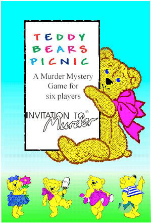 Teddy Bears Picnic Murder Mystery Game by ITM Games